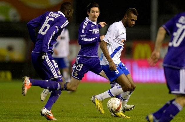 Gent houdt Anderlecht op 1-1 in Beker