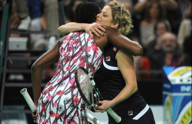 Clijsters neemt afscheid met zege tegen Venus Williams