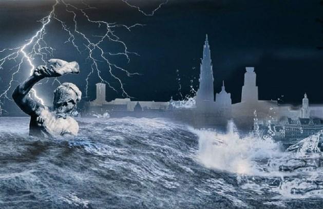 Antwerpen dreigt tegen 2050 onder water te staan