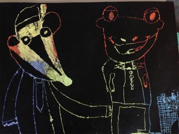 Kinderkunst van de week: Jens Balas