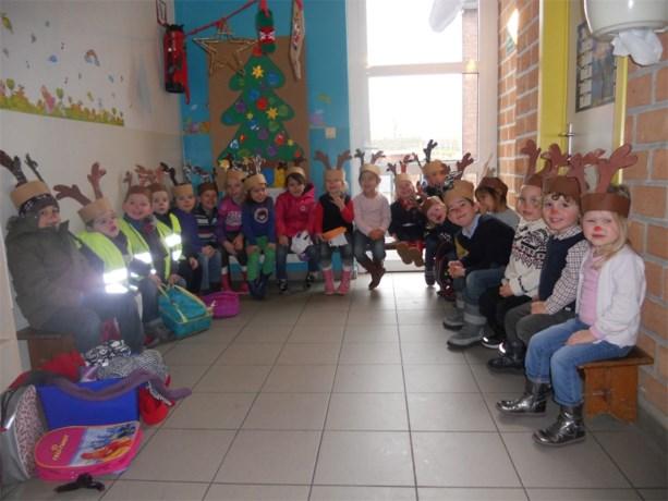 Kerstsfeer in de Stedelijke Basisschool Hees