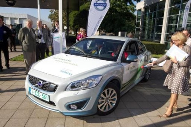 Volvo zet productie C30 in Gent stop