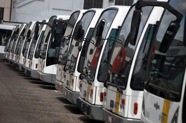 Onbekenden stelen bus van De Lijn
