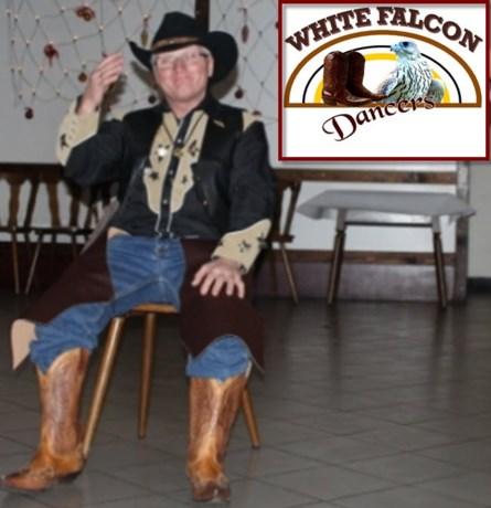 Nieuwe voorzitter bij de White Falcon line dancers