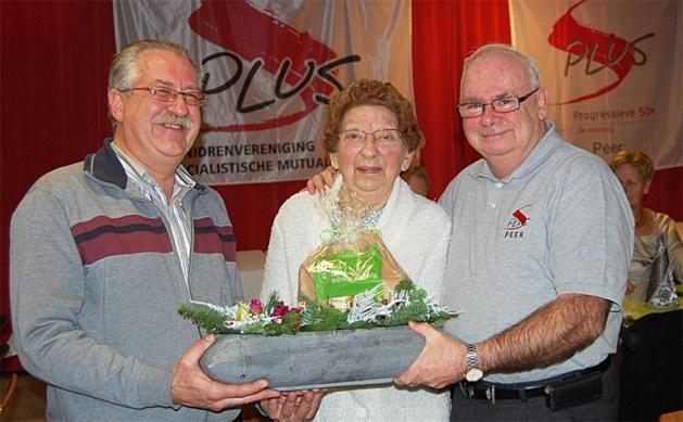 90 jarige gevierd bij S Plus