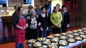 SP.A maakte kerstmaaltijden voor Sint-Vincentius