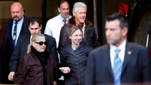 Hillary Clinton verlaat ziekenhuis