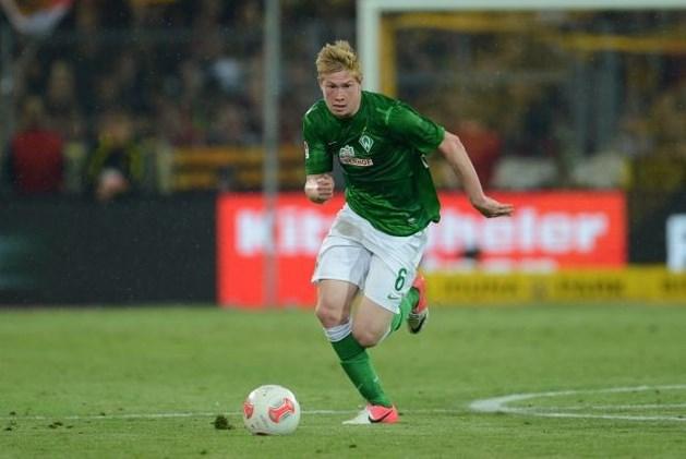 """De Bruyne: """"Mogelijk blijf ik nog een seizoen bij Bremen"""""""