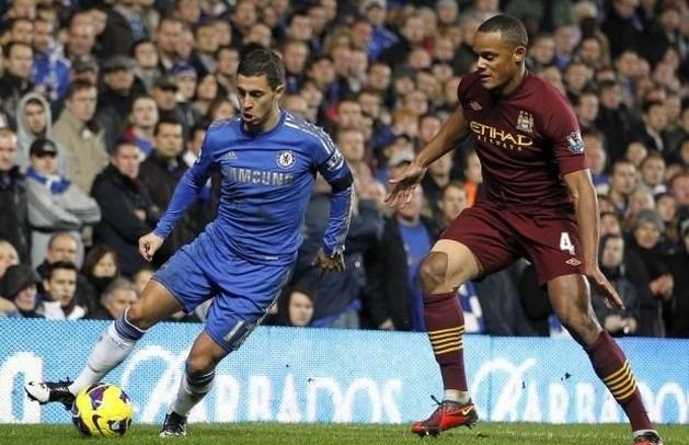 Kompany en Hazard grijpen naast plaats in Wereldelftal van 2012
