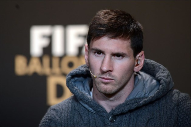 """Messi: """"2012 was niet mijn beste jaar"""""""