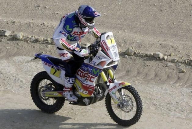 Tweede zege voor Lopez in Dakar motoren