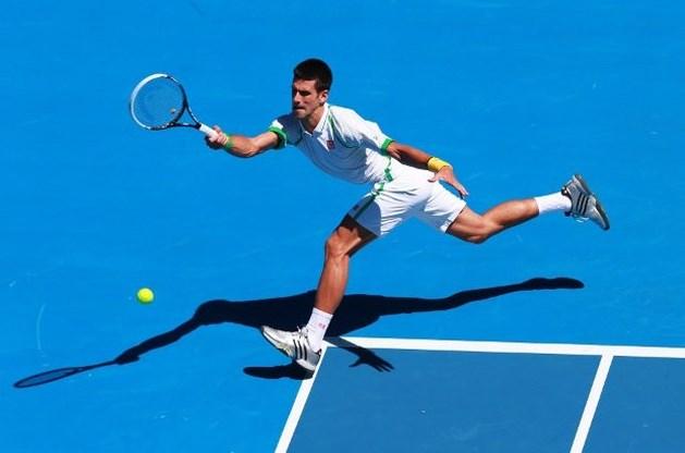 Djokovic in drie sets naar tweede ronde Australian Open