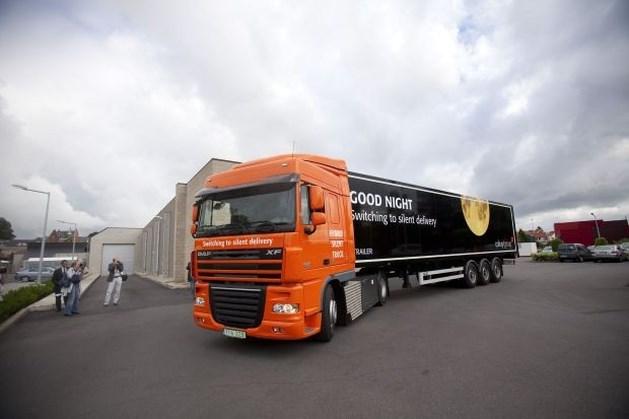 Minder files door 'stille' vrachtwagens