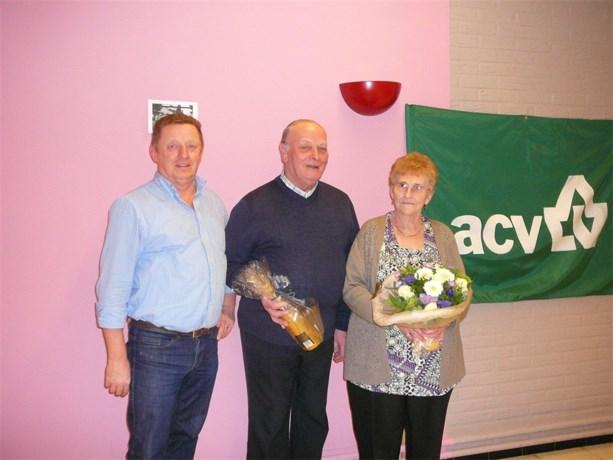 ACV Peer wuift regiovoorzitter Fernand Goossens uit