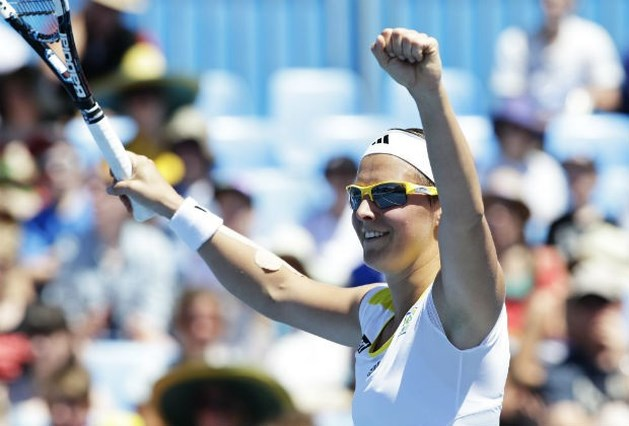 Flipkens zit in derde ronde Australian Open