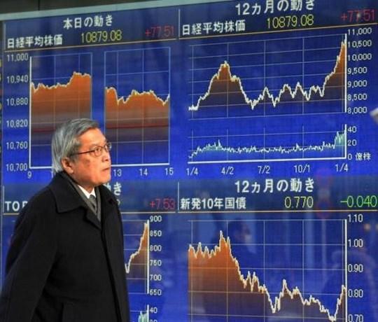 Beurs Tokio duikt 2,6 procent lager