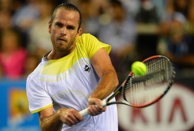 Xavier Malisse sneuvelt in tweede ronde Australian Open