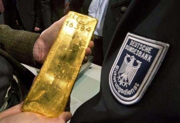 Duitsers halen 700 ton goud uit buitenland weg