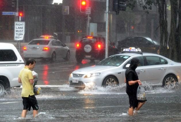 Zware overstromingen aan oostkust Australië