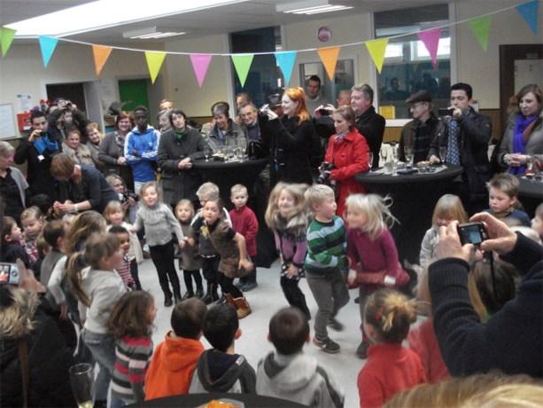 Nieuwjaarsdrink in kleuterschool 't Molenhofje
