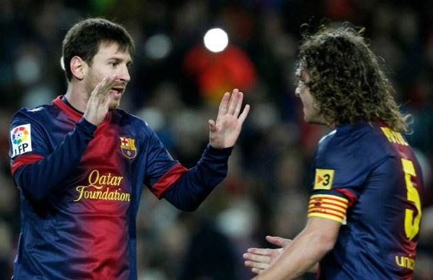 Messi treft alweer vier keer raak voor Barcelona
