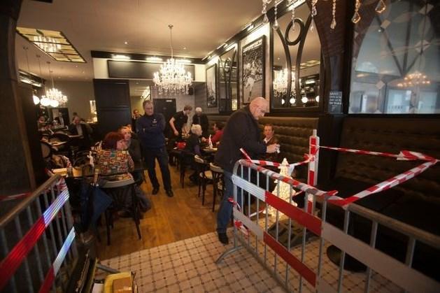 15.000 euro boete voor werken aan café Wembley