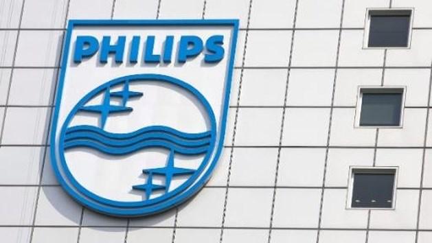Boete drukt Philips in het rood