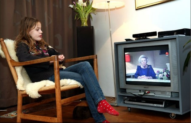 Toespraak Beatrix trekt 7,4 miljoen kijkers