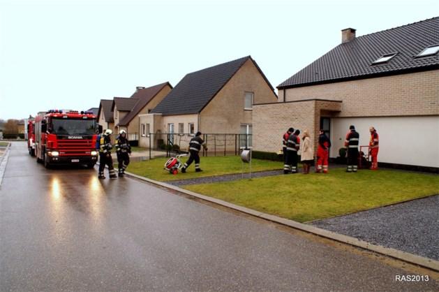 Brand na kortsluiting aan gasverwarming snel onder controle