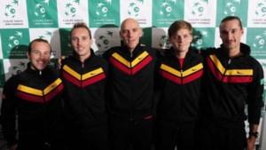 Davis Cup-Belgen vormen snorrenclub