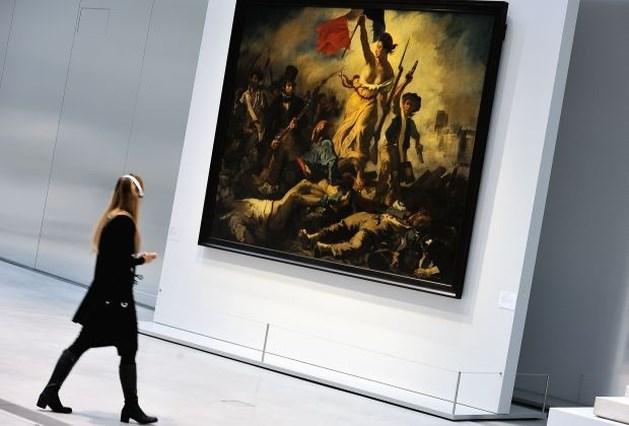 Meesterwerk van Delacroix beklad