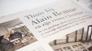Hoofd Cel Vermiste Personen prijst veranda's aan in folder