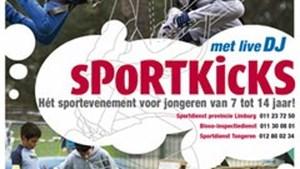 Schrijf nu in voor Sportkicks, sportevenement voor jongeren van 7 tot 14 jaar