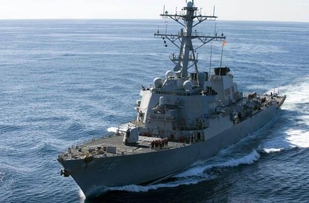Verenigde Staten plaatsen destroyer nabij Noord-Korea