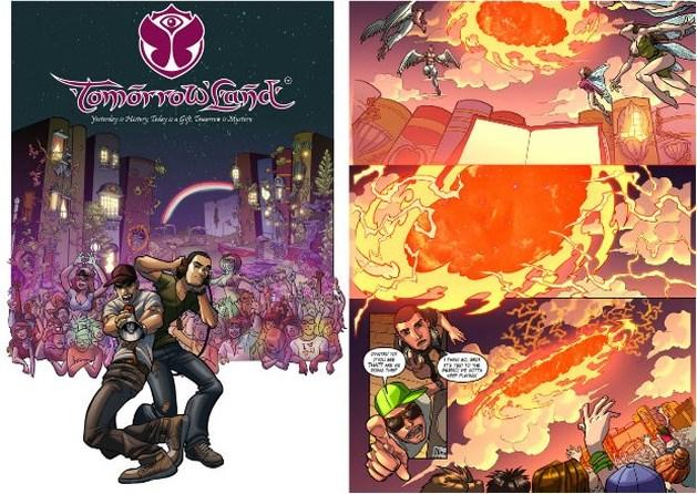 Tomorrowland krijgt eigen comic