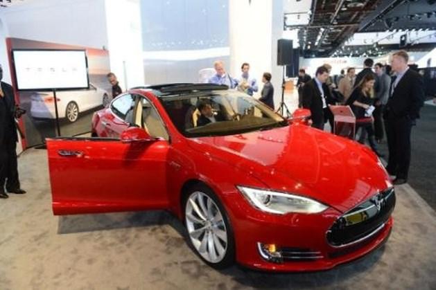 Tesla timmert aan Belgische showroom