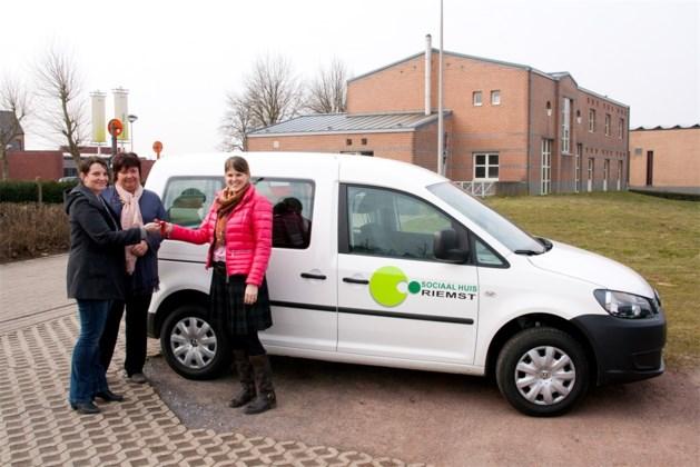 Nieuwe dienstwagen voor Sociaal Huis