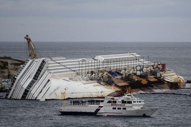 Cruisebedrijf krijgt 1 miljoen euro boete na ongeval Costa Concordia