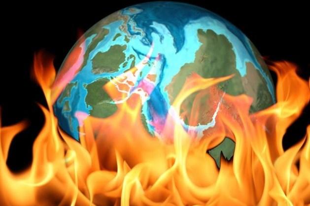 Blik op de ruimte: Wereldwijde brand