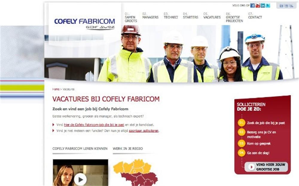 Cofely Fabricom zoekt 25 nieuwe medewerkers tijdens ...