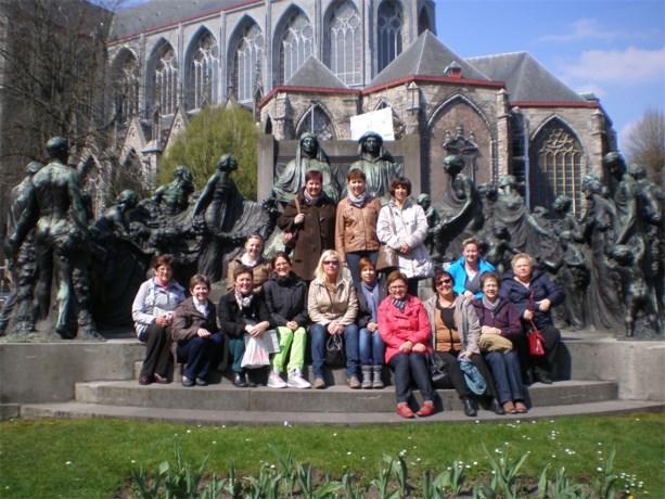 KVLV Gruitrode op tweedaagse naar Gent