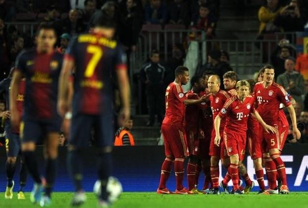 Bayern ook in Camp Nou te sterk voor machteloos Barça