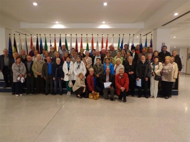 Genendijkse senioren op stap naar Brussel