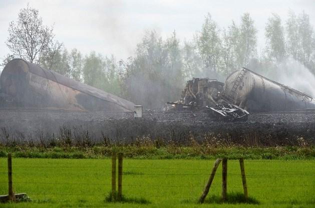 Mogelijk nieuwe evacuaties bij takelen wrak in Wetteren