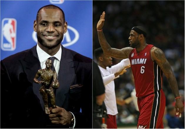 LeBron James opnieuw verkozen tot MVP