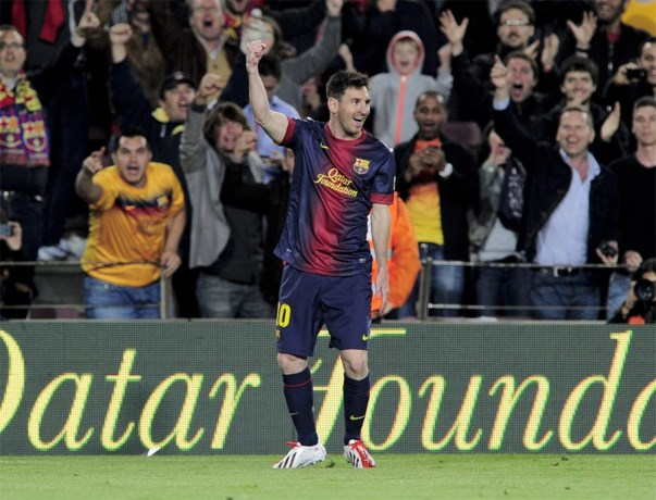 Invaller Messi scoort twee keer tegen Betis