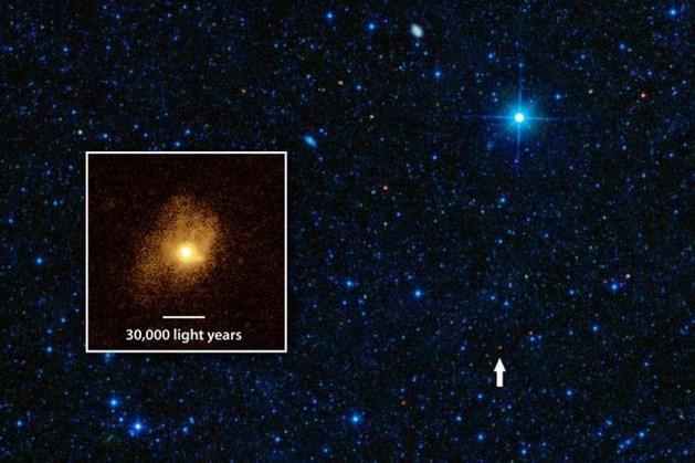 Blik op de ruimte: Efficiënte sterrenfabriek