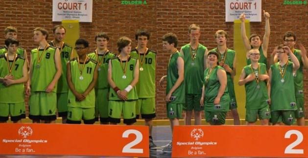 2 ploegen G-Basket KBBC Zolder halen de zilvere medaille