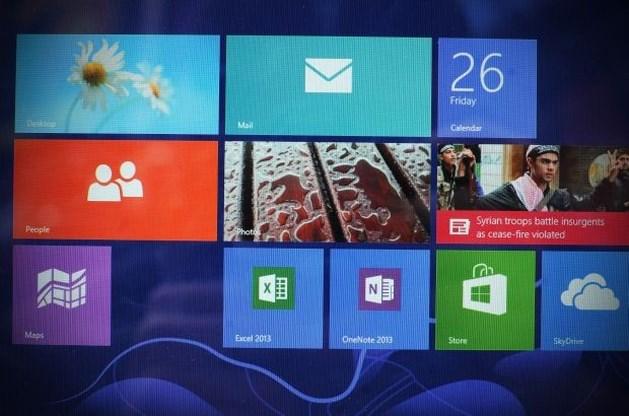 Nieuwe (gratis) versie van Windows 8 heet Windows 8.1