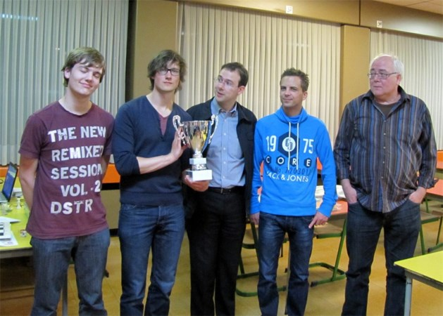 Lommelse schaakclub opnieuw Limburgs kampioen interclub!